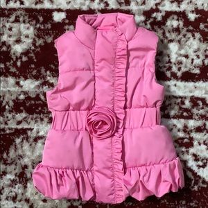 Used Lilly Pulitzer Toddler Girl Pink Vest